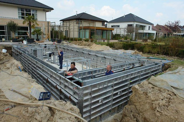 Swimming Pool Formwork Flickr Photo Sharing