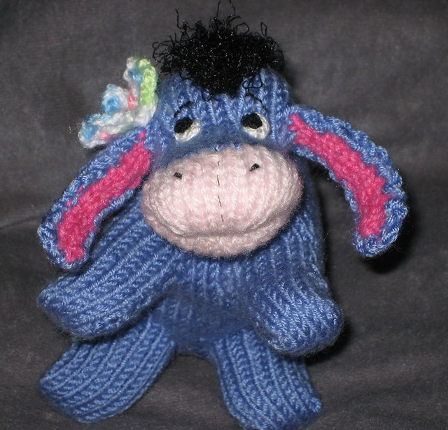 Knitted Tie Patterns : Eeyore Peep with Butterfly Flickr - Photo Sharing!