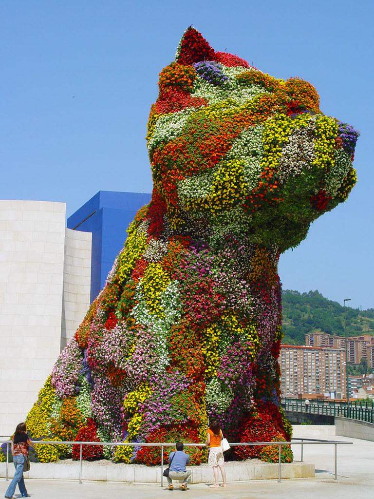 Pupi Es La Estrella El Museo Guggenheim Bilbao Est U00e1