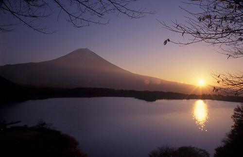 sunrise Mt.Fuji