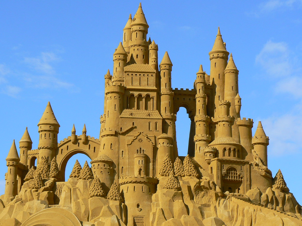 Sandcastle competition, Blankenberge