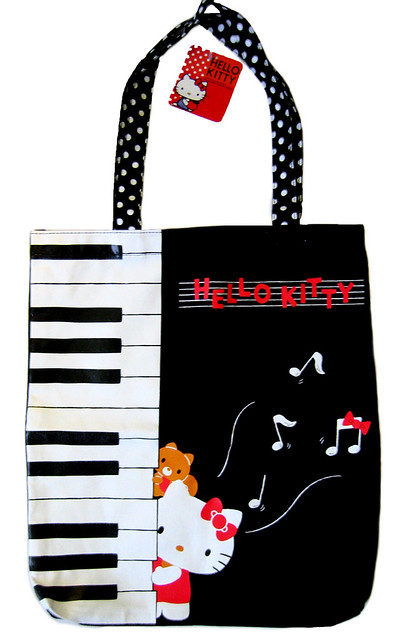 Piano Tote Bag 111