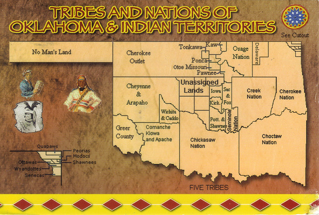Tribes Nations of Oklahoma and Indian Territories Flickr Photo Shar