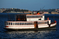 ferry, motor ship, vehicle, ship, channel, watercraft, boat, steamboat, waterway,
