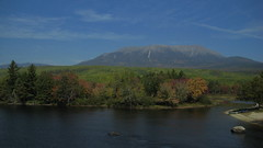 Katahdin in the Afternoon