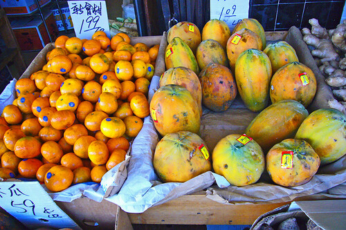 Fruit in Chinatown by Old Jingleballicks