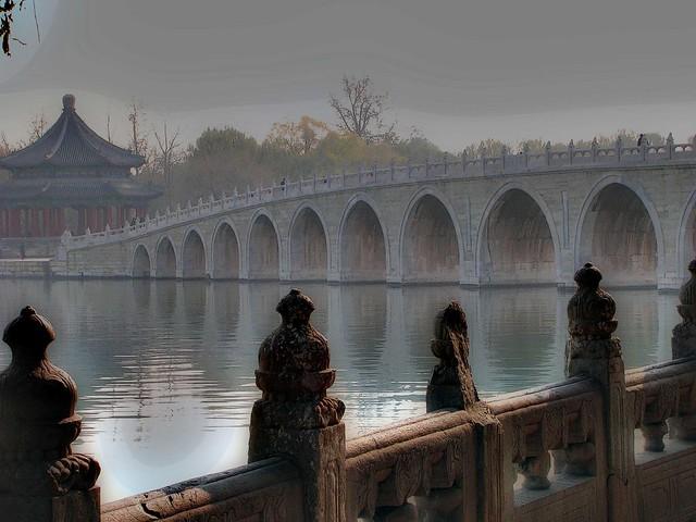 beijing mists