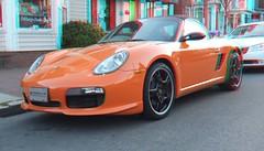 convertible(0.0), automobile(1.0), automotive exterior(1.0), wheel(1.0), vehicle(1.0), automotive design(1.0), porsche(1.0), porsche cayman(1.0), bumper(1.0), land vehicle(1.0), luxury vehicle(1.0), supercar(1.0), sports car(1.0),