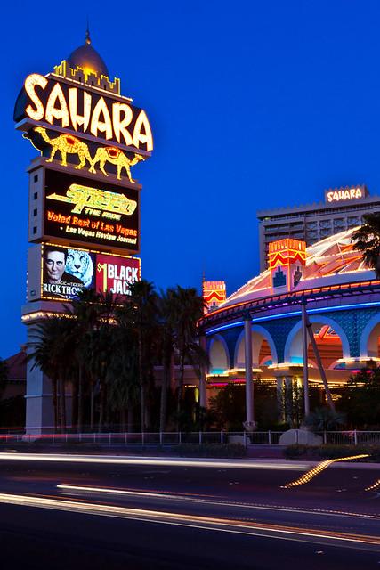Last Call For The Sahara Sahara Hotel Casino Las Vegas