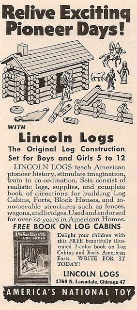 Lincoln Logs - 1950