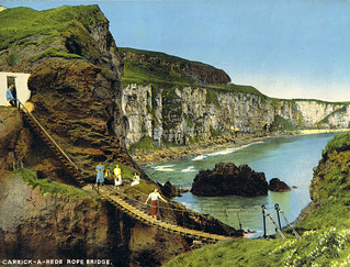 Carrick-a-Rede rope bridge (1950's)