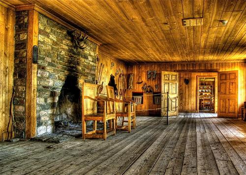 wood canada hall pentax explore alberta freehand hdr fortedmontonpark photomatixpro 5xp k10d pentaxk10d rowandhouse