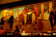 St. Regis Bar - Manhattan - Maxfield Parrish Mural - Old King Cole  by Al_HikesAZ, on Flickr