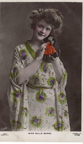 Billie Burke as Geisha with Doll 2