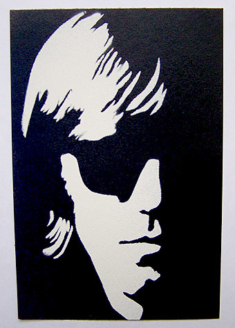Ray Manzarek - The DoorsThe Doors Stencil