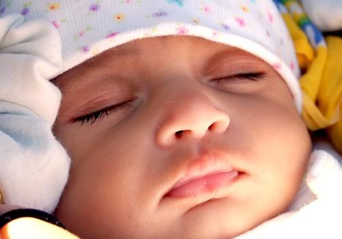 Sleeping innocence by Sreejith K