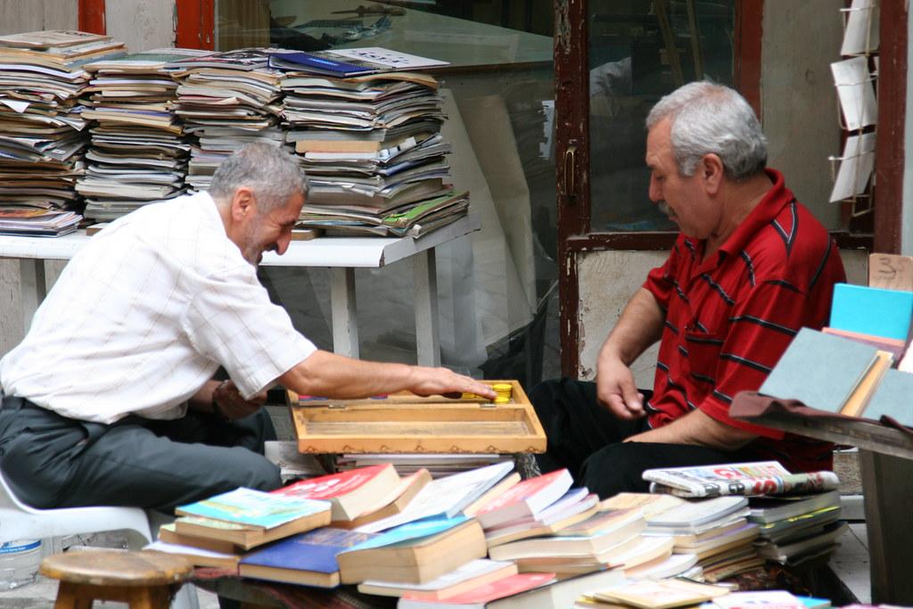 Bookseller Backgammon