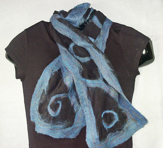Moody Blues Nuno scarf
