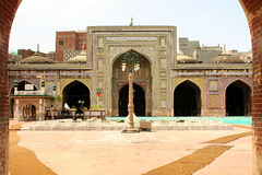 Main Courtyart - Wazir Khan Mosque, Lahore.