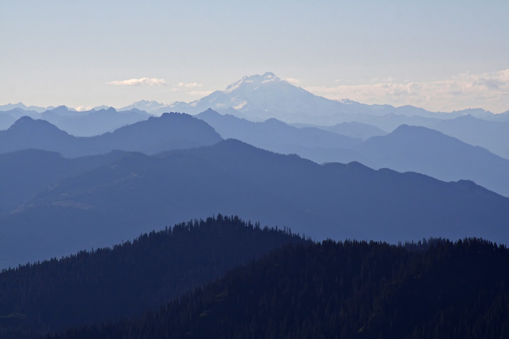 Glacier Peak feeling blue