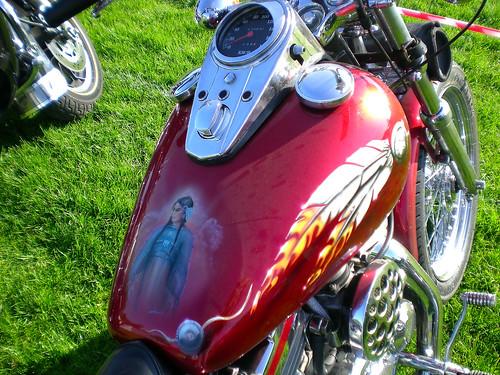 Harley Davidson tank