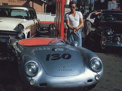 IN MEMORY OF // JAMES DEAN