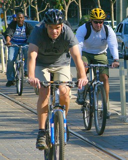 San Francisco cyclists
