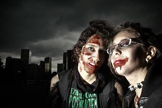 los zombies se apoderan de la ciudad