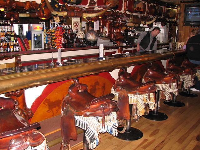 The Million Dollar Cowboy Bar In Jackson Wyoming Flickr
