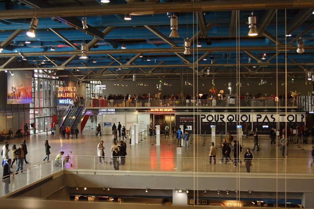 Centre pompidou interior flickr photo sharing - Centre george pompidou architecture ...