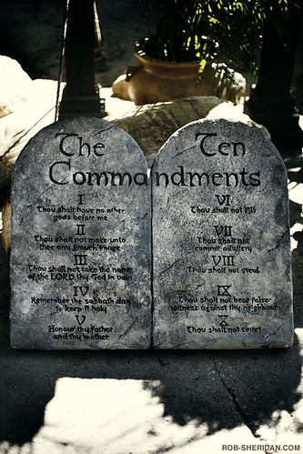 The Holy Land Experience Theme Park - The Ten Commandments