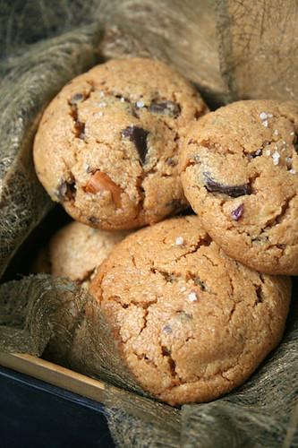 Le p trin cookies pur beurre de cacahu tes et eclats de chocolat - Cookies beurre de cacahuete ...