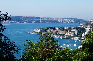 View of the Bosphorus Bridge - 100_0152