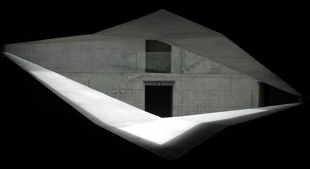 Chichu Art Museum Triangular Courtyard