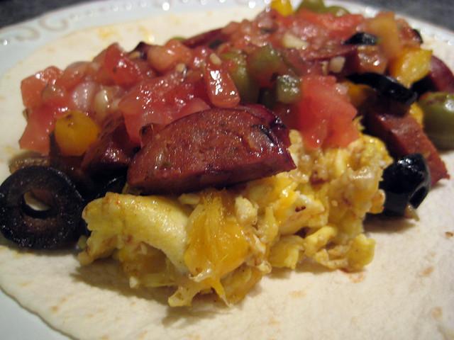 Chorizo and Egg Breakfast Burrito | Flickr - Photo Sharing!