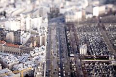 TILT VIEW FROM MONTPARNASSE TOWER