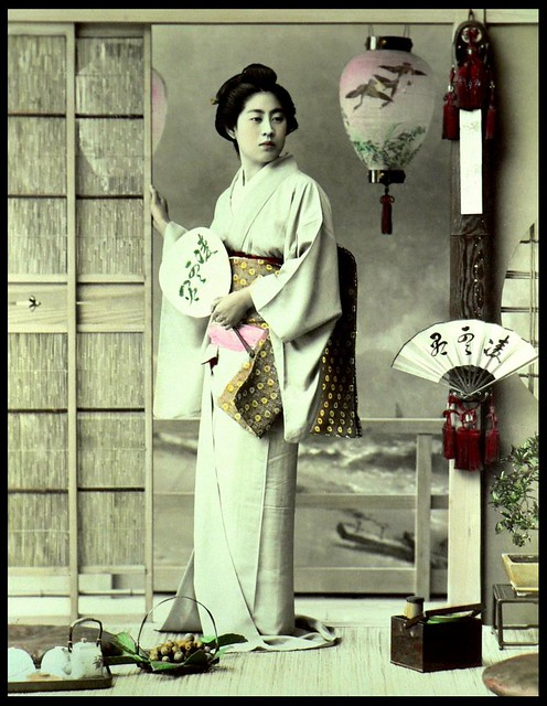 A GEISHA NAMED TAMAYE -- One of the