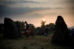 Stone Circle sunset
