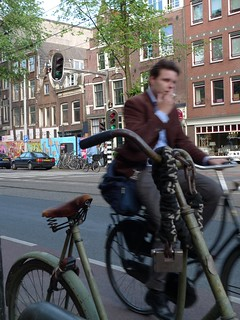 old omafiets and amsterdam cyclists 6