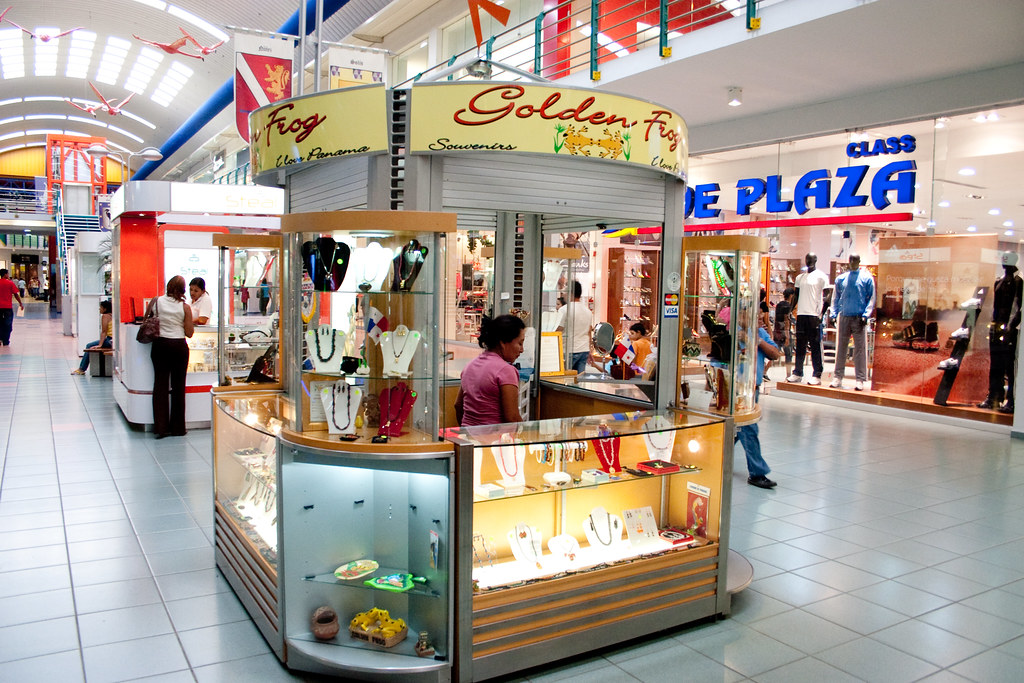 Golden Frog Jewelry store, Albrook Mall