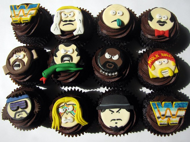 Wrestling Decorations For Cakes