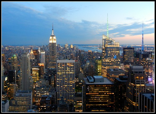 Big Apple....Blue Hour....
