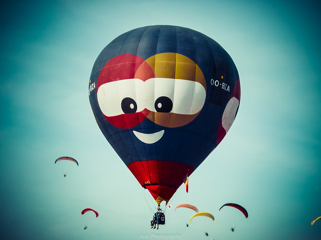 воздушный шар,  улыбка