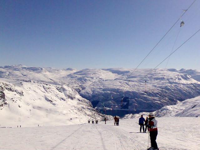 Skiing in Røldal by Sundve, on Flickr