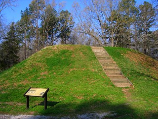 Chickasaw Indian Mounds at Owl Creek- Natchez Trace Parkway, just south of Tupelo, Mississippi