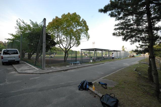 京田辺キャンパスの端
