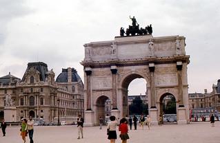 Paris - Carrousel and Louvre