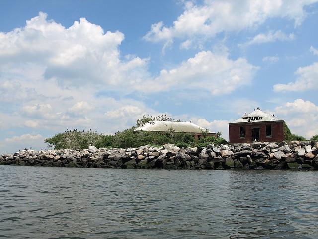 Swinburne Island, Lower New York Bay