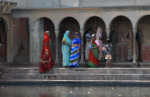 Women at the Ghats