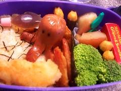 Octodog- Tempura Shrimp Bento